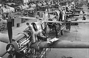 Curtiss-Wright factory floor