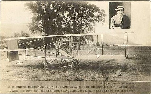 Curtiss Rheims Flyer